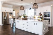Country Style House Plan - 4 Beds 3.5 Baths 4469 Sq/Ft Plan #119-216 Interior - Kitchen