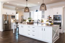 Dream House Plan - Country Interior - Kitchen Plan #119-216