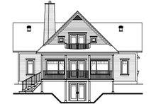 Traditional Exterior - Rear Elevation Plan #23-851