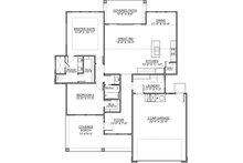 Craftsman Floor Plan - Main Floor Plan Plan #1073-15