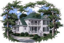 Home Plan - Victorian Exterior - Front Elevation Plan #37-226