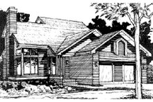 Home Plan - Traditional Exterior - Front Elevation Plan #320-335