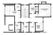 Bungalow Style House Plan - 3 Beds 3 Baths 2175 Sq/Ft Plan #928-9 Floor Plan - Upper Floor Plan