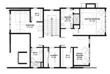 Bungalow Floor Plan - Upper Floor Plan Plan #928-9