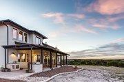 Mediterranean Style House Plan - 4 Beds 4.5 Baths 4185 Sq/Ft Plan #935-4 Exterior - Rear Elevation