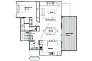 Modern Style House Plan - 3 Beds 2.5 Baths 2282 Sq/Ft Plan #496-21 Floor Plan - Upper Floor Plan