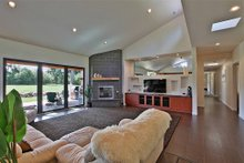 Great Room - 3300 square foot Modern home