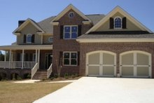 Dream House Plan - Country Exterior - Front Elevation Plan #56-191