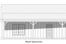Architectural House Design - Country Exterior - Front Elevation Plan #932-370