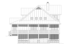 Dream House Plan - Farmhouse Exterior - Other Elevation Plan #932-34