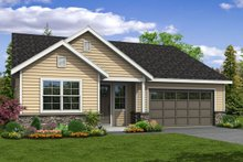 House Plan Design - Traditional Exterior - Front Elevation Plan #124-1047