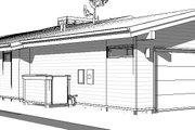 Modern Style House Plan - 3 Beds 2 Baths 1863 Sq/Ft Plan #895-127