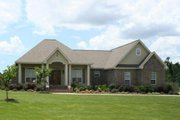 European Style House Plan - 3 Beds 2.5 Baths 1900 Sq/Ft Plan #21-270 Exterior - Front Elevation