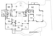 Ranch Style House Plan - 4 Beds 2.5 Baths 3249 Sq/Ft Plan #895-28 Floor Plan - Main Floor Plan