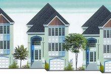 Dream House Plan - European Exterior - Front Elevation Plan #23-747