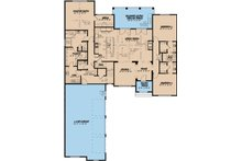 European Floor Plan - Main Floor Plan Plan #923-7