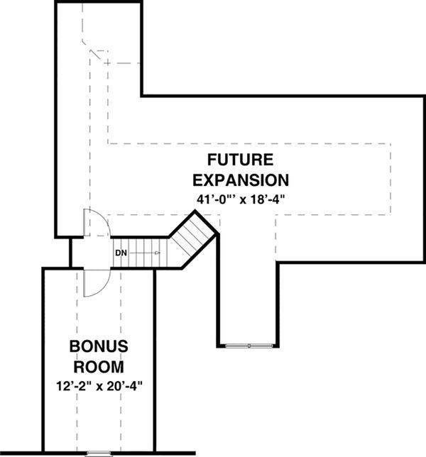 Craftsman Floor Plan - Other Floor Plan #56-634