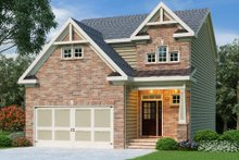 Traditional Exterior - Front Elevation Plan #419-215