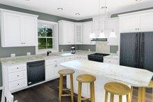 Home Plan - Cottage Interior - Kitchen Plan #44-247