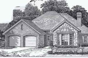 Colonial Exterior - Front Elevation Plan #310-788