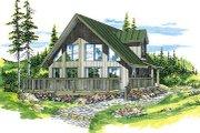 Modern Style House Plan - 3 Beds 2 Baths 1543 Sq/Ft Plan #47-316