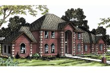 Home Plan - European Exterior - Front Elevation Plan #124-271