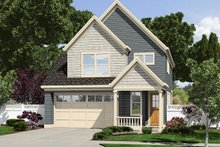 Dream House Plan - Country Exterior - Front Elevation Plan #48-500
