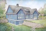 Farmhouse Style House Plan - 4 Beds 4 Baths 3409 Sq/Ft Plan #928-328 Exterior - Rear Elevation