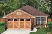 Country Style House Plan - 4 Beds 2 Baths 1420 Sq/Ft Plan #84-637 Exterior - Front Elevation