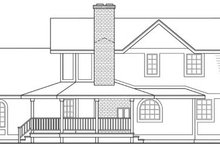 Traditional Exterior - Other Elevation Plan #124-109