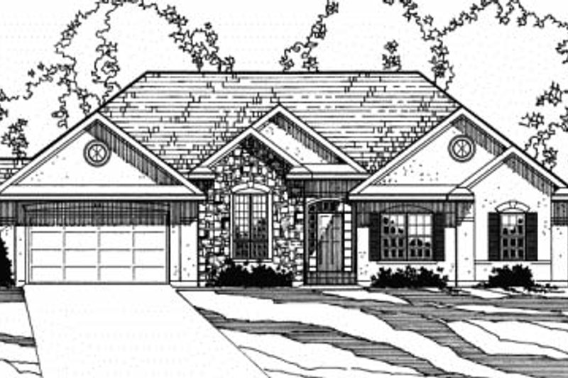 Traditional Exterior - Front Elevation Plan #31-130