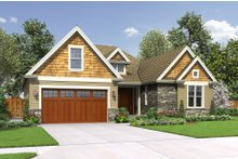 House Plan Design - Craftsman Exterior - Front Elevation Plan #48-662