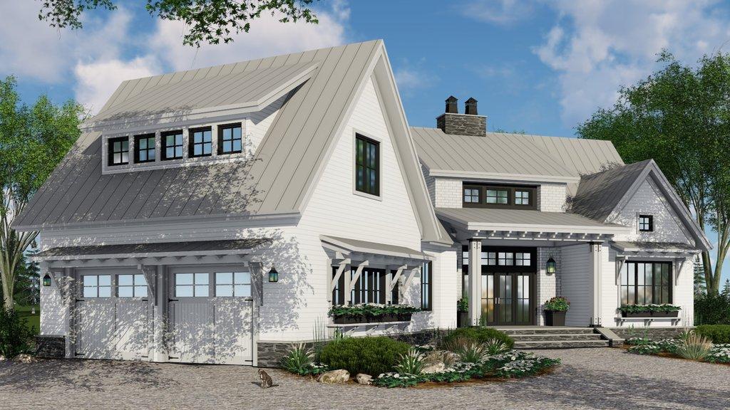 Farmhouse Style House Plan 4 Beds 3 Baths 2150 Sq Ft