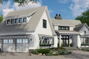 Farmhouse Style House Plan - 4 Beds 3 Baths 2150 Sq/Ft Plan #51-1135 Exterior - Front Elevation