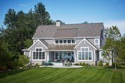 Farmhouse Style House Plan - 3 Beds 3.5 Baths 3799 Sq/Ft Plan #928-14 Exterior - Rear Elevation
