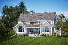 Dream House Plan - Farmhouse Exterior - Rear Elevation Plan #928-14