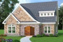 Architectural House Design - European Exterior - Front Elevation Plan #419-230
