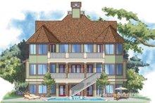 House Plan Design - Craftsman Exterior - Rear Elevation Plan #930-138