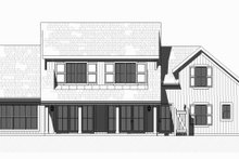 Dream House Plan - Farmhouse Exterior - Rear Elevation Plan #901-132