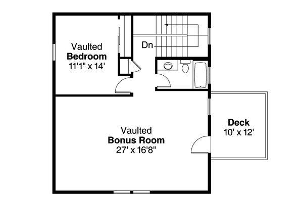 House Plan Design - Traditional Floor Plan - Upper Floor Plan #124-959