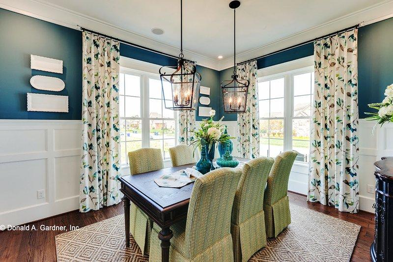Craftsman Interior - Dining Room Plan #929-839 - Houseplans.com