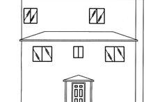 Dream House Plan - Mediterranean Exterior - Rear Elevation Plan #117-884