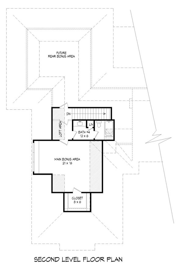 Country Floor Plan - Upper Floor Plan Plan #932-294