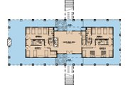 Craftsman Style House Plan - 11 Beds 10.5 Baths 10991 Sq/Ft Plan #923-10 Floor Plan - Lower Floor