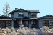 Craftsman Style House Plan - 3 Beds 2.5 Baths 3266 Sq/Ft Plan #895-33 Exterior - Rear Elevation