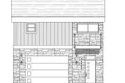 Contemporary Style House Plan - 1 Beds 1 Baths 825 Sq/Ft Plan #932-41 Exterior - Front Elevation