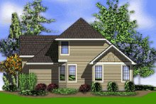 Dream House Plan - Traditional Exterior - Rear Elevation Plan #48-375