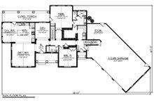 Ranch Floor Plan - Main Floor Plan Plan #70-1216
