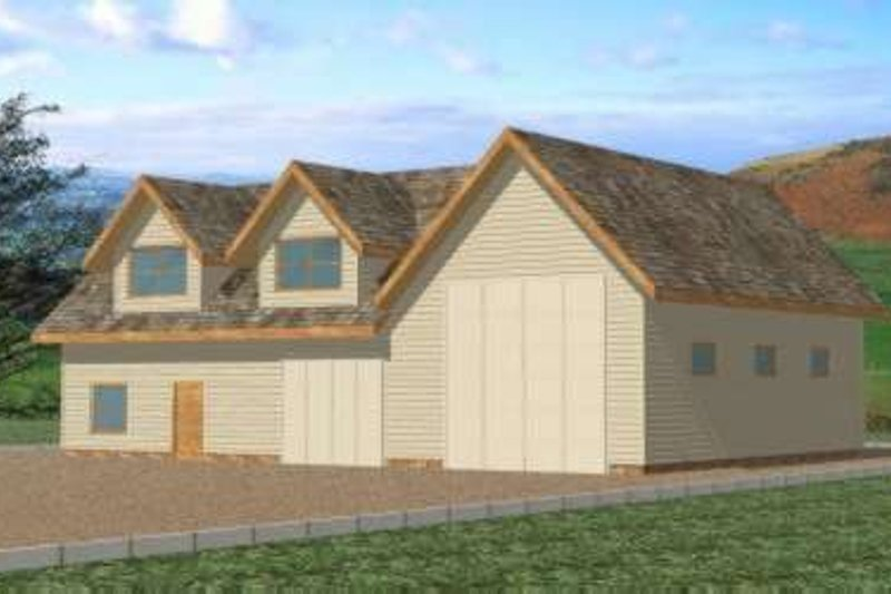 Traditional Exterior - Front Elevation Plan #117-357
