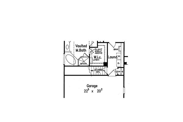 House Design - Opt. Basement Stair Location